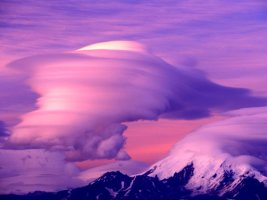 신기하고 아름다운 구름