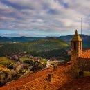 스페인 여행 중세 소도시 카르도나 국영호텔 파라도르에서 풍경 사진 촬영