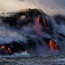 ♣ 대장관!! 하와이 화산 용암속으로