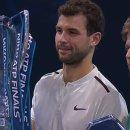 [ATP파이널] 디미트로프, 생애 첫 파이널 우승