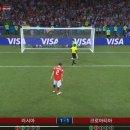 벨기에:브라질, 스웨덴:잉글랜드, 러시아:크로아티아 러시아 월드컵 8강전 하이라이트