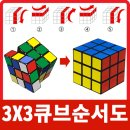 3×3큐브 맞추는 공식 방법 완벽설명