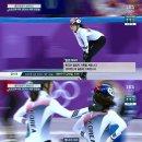 [2018 평창 동계올림픽] 쇼트트랙 여자 계주 3000m 준결승 추월 당시 해외 중계