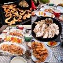 양평에서 먹는 그리스요리 집밥 포크 & 새우 수블라키와 차지키소스