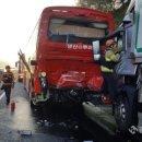 [경남뉴스투데이]진주서 화물차와 통근버스 추돌 사고...29명 부상