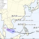 필리핀 덮친 27호 태풍 '덴빈' 베트남에 접근 중(현재 상황 및 태풍 이동경로)