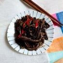 고사리나물 볶음 들기름으로 볶아 감칠맛 나게~♩