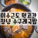 수구레국밥 KBS 1박2일 이수근이 먹고간 창녕맛집 <삼오식당>
