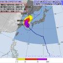 한국 미국 일본 기상청의 조금씩 다른 태풍 경로 예보