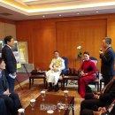 엄태항 봉화군수, 베트남 국회의장 접견