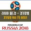 2018 러시아월드컵 경기장 위치 수용인원 일정 총정리