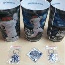 데릭지터 연필꽂이 통, 양키스 열쇠고리, 다저스 플라스틱 헬멧, 기념 주화 등 판매