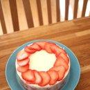 딸기 케이크 만들기