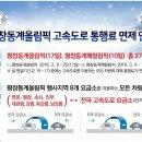 설 연휴, 평창 동계올림픽 고속도로 통행료 면제 알아봐요!