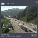 영동고속도로 교통상황과 서울양양고속도로 교통상황 비교 (2018년 8월 1일)
