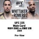UFC 225 휘테커 vs 로메로 2차전 프리뷰- 스포티비 나우 생중계