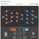 2018-09-22 EPL 리버풀 VS 사우스햄튼 경기분석