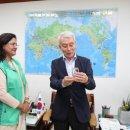 정성헌 중앙회장, 주한 방글라데시 대사와 면담