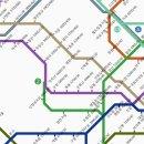 서울 지하철 노선도 기반 월세지도