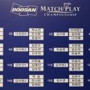 두산 매치플레이 챔피언십 2018 정보 및 1라운드 경기