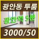 광안동 투룸 :: 수영로타리 초역세권 수영투룸~ 3000/50