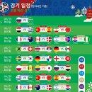 2018 러시아 월드컵 개막전 시간 경기장 조편성 각국 일정 및 한국일정 일본일정 시간