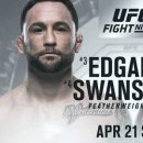 [UFC News]프랭키 에드가 대 컵 스완슨 2차전