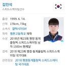 평창동계올림픽 금메달 윤성빈선수 스켈레톤 세계랭킹