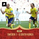한국0:1스웨덴, 벨기에3:0파나마, 잉글랜드2:1튀니지 [해외에서 월드컵 중계는...
