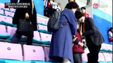 직관의 매력' 김정숙 여사, 평창패럴림픽 남자 아이스하키 경기 관전 [C브라더]