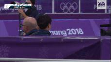 [영상pick] '동메달' 김민석이 달려가 뜨겁게 포옹한 '밥데용'은 누구?