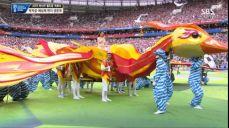 [월드컵 개막식] 우아한 아이다 가리풀리나와 로비 윌리엄스의 Feel SBS 2018 FIFA 러시아 월드컵 44회
