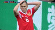 [러시아 VS 사우디] 슈팅조차 날리지 못한 체리세프 SBS 2018 FIFA 러시아 월드컵 44회