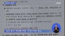 탄핵·개헌 대응 문건..