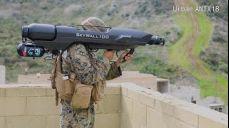 드론 포획총, 무인전투로봇 등 최첨단 장비 동원한 미해병대의 시가전 훈련