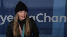 [미방송 영상] 스노보드 뉴질랜드 조이 사도스키 시놋 인터뷰 2018 평창 동계올림픽대회 58회
