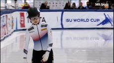 [월드컵2차] 여자 500m - 의아한 결정으로 실격당하는 최민정 ISU 쇼트트랙 16회