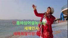 ♡새해인사♡🍎품바싱어설녹수🍎새해첫날 대천공연전 인사말2018년1월1일( 능이)