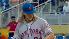 건강한 뉴욕 메츠 선발진의 파괴력을 보고 계십니다. 노아 신더가드의 6이닝 1실점 경기로 뉴욕 메츠가 6연승