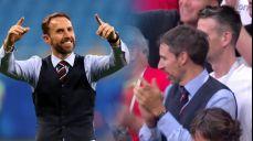 [크로아티아 VS 잉글랜드] 사랑해요 감독님! 사우스게이트 도플갱어 등장 SBS 2018 FIFA 러시아 월드컵 104회