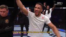 [UFC] 케빈 리 옥타곤 인터뷰