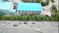 고성에서 마창대교 방향 국도교통상황
