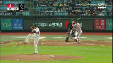 KT 3연전 연속 홈런을 달성하는 로맥 / 3회초