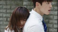 김세정, 이성 잃은 김정현 뒤에서 '백허그'