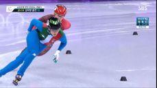 쇼트트랙 1000m - 가볍게 1위로 들어온 아리아나 폰타나 2018 평창 동계올림픽대회 53회