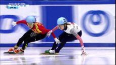[쇼트트랙] 여자 500m 결승 심석희, 중국 판커신 비매너에 실격 2017 삿포로 동계 아시안게임 6회