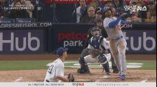 든든한 득점지원' 맷 캠프, 실수를 만회하는 쓰리런 홈런