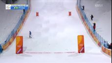[영상] 스키 모굴 최재우, 아쉬운 착지 실패..2차 결선 실격