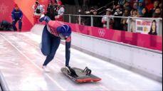 [미방송 영상] 스켈레톤 여자 - 리지 야놀드 금메달 2018 평창 동계올림픽대회 43회