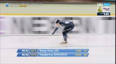 [스피드 월드컵3차] 이상화 1000m ISU 국제빙상대회 26회